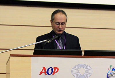PET in Oncology 2016, conference opening, welcome speech, Mikhail Dolgushin